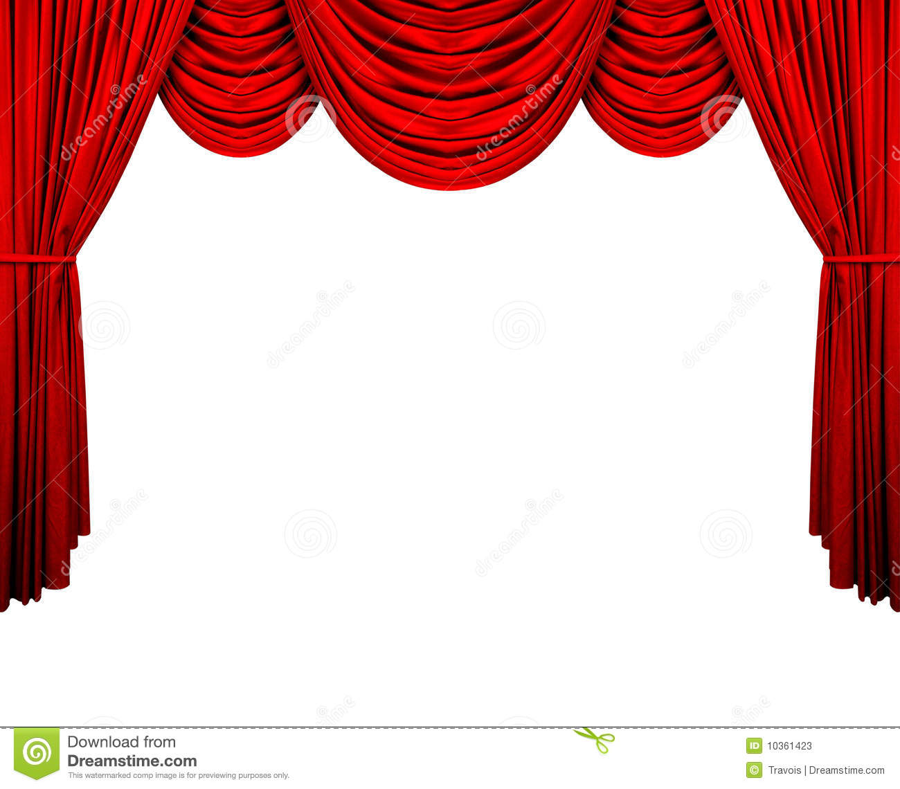 hight resolution of stage curtain