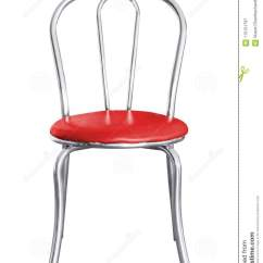 Steel Chair For Office Oval Back Dining Stainless Isolated Stock Image Of