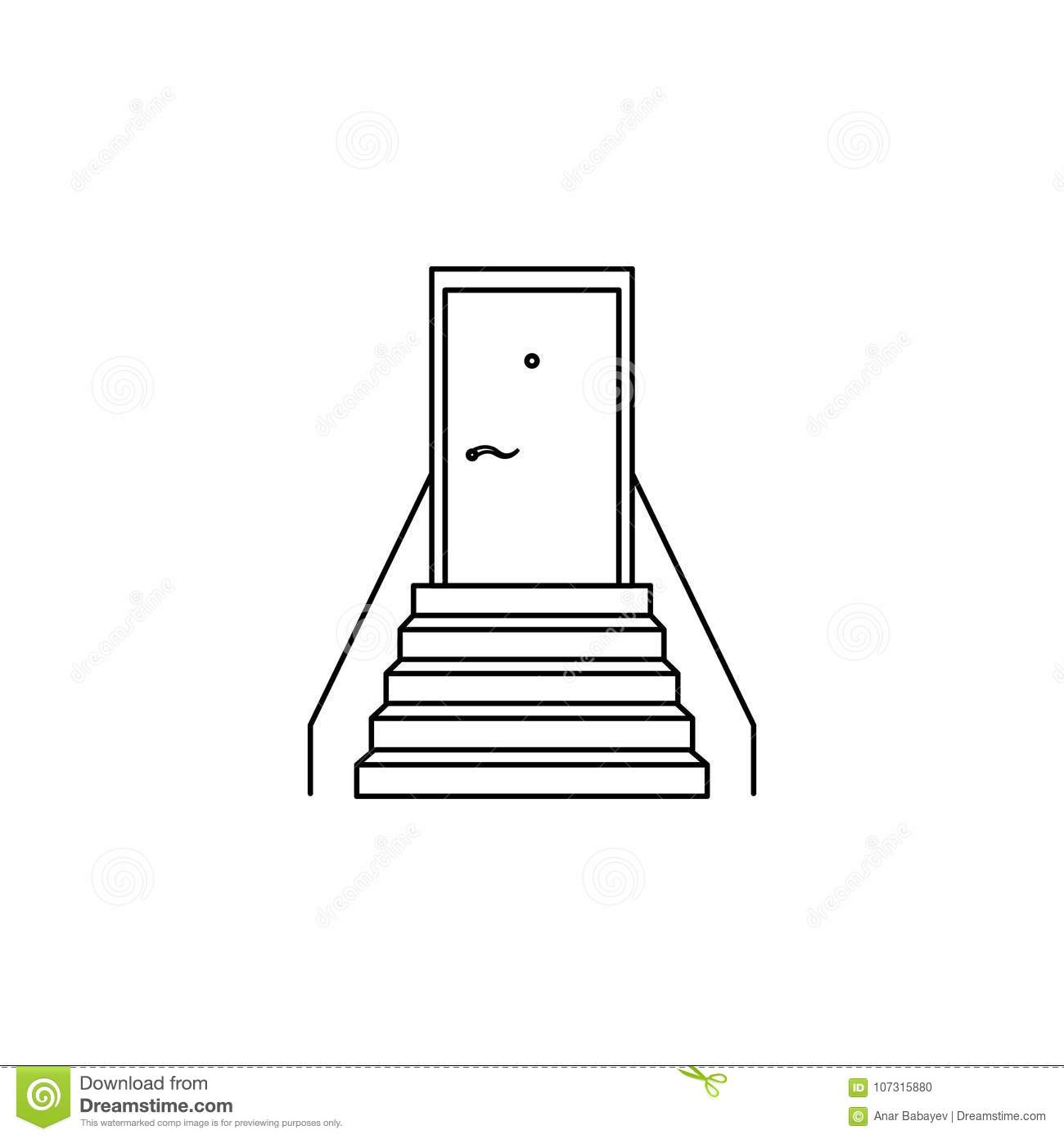 hight resolution of diagram of door stairs wiring diagrams scematicstaircase with a door icon stairs in our life icon