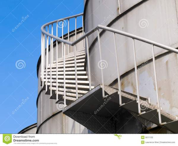 Roof Access Spiral Stairs