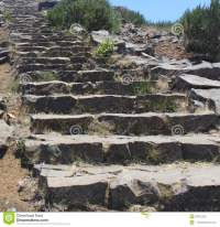 Stairway in the mountain stock photo. Image of rocks ...