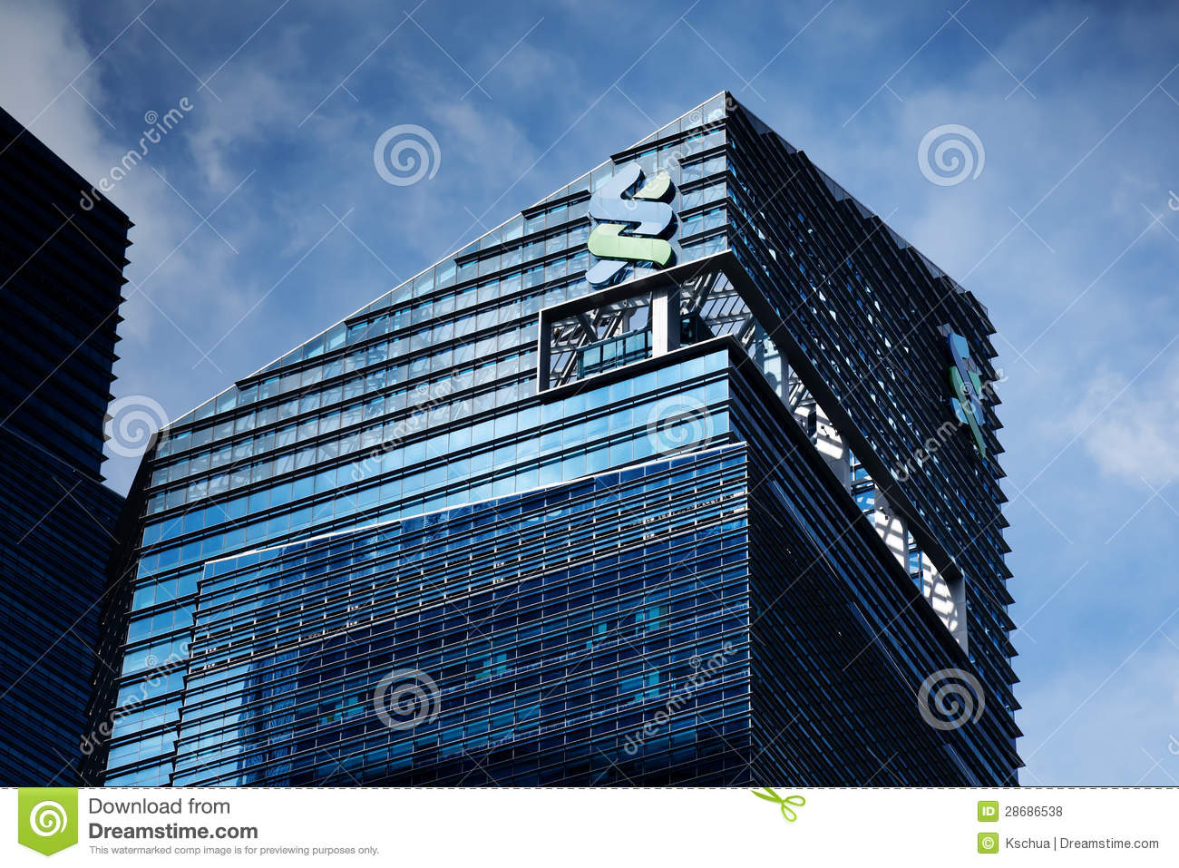 Standard Chartered Bank Building Editorial Stock Photo - Image of banking, architecture: 28686538