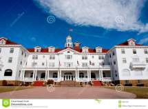 Stanley Hotel Enterance Royalty Free Stock
