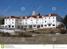 Stanley Hotel Stock Of Park Landmark