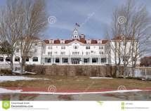 Stanley Hotel - Front Editorial Stock Of