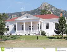 Stanley Hotel Outer Building Editorial Stock