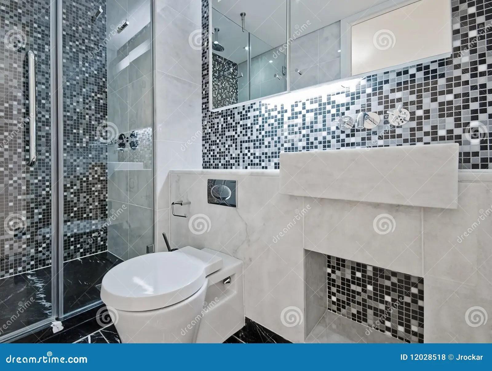 Piastrelle bagno mosaico grigio piastrelle per il bagno tre