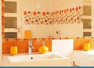 Piastrelle da bagno con fiori pavimenti per il bagno dal