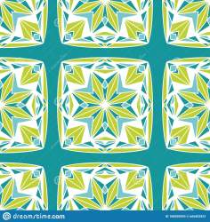 block chartreuse star vector seamless teal quilt pattern
