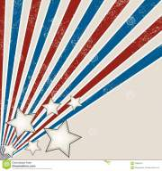 stars and stripes grunge design