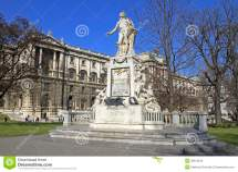 Statue Of Wolfgang Amadeus Mozart Stock