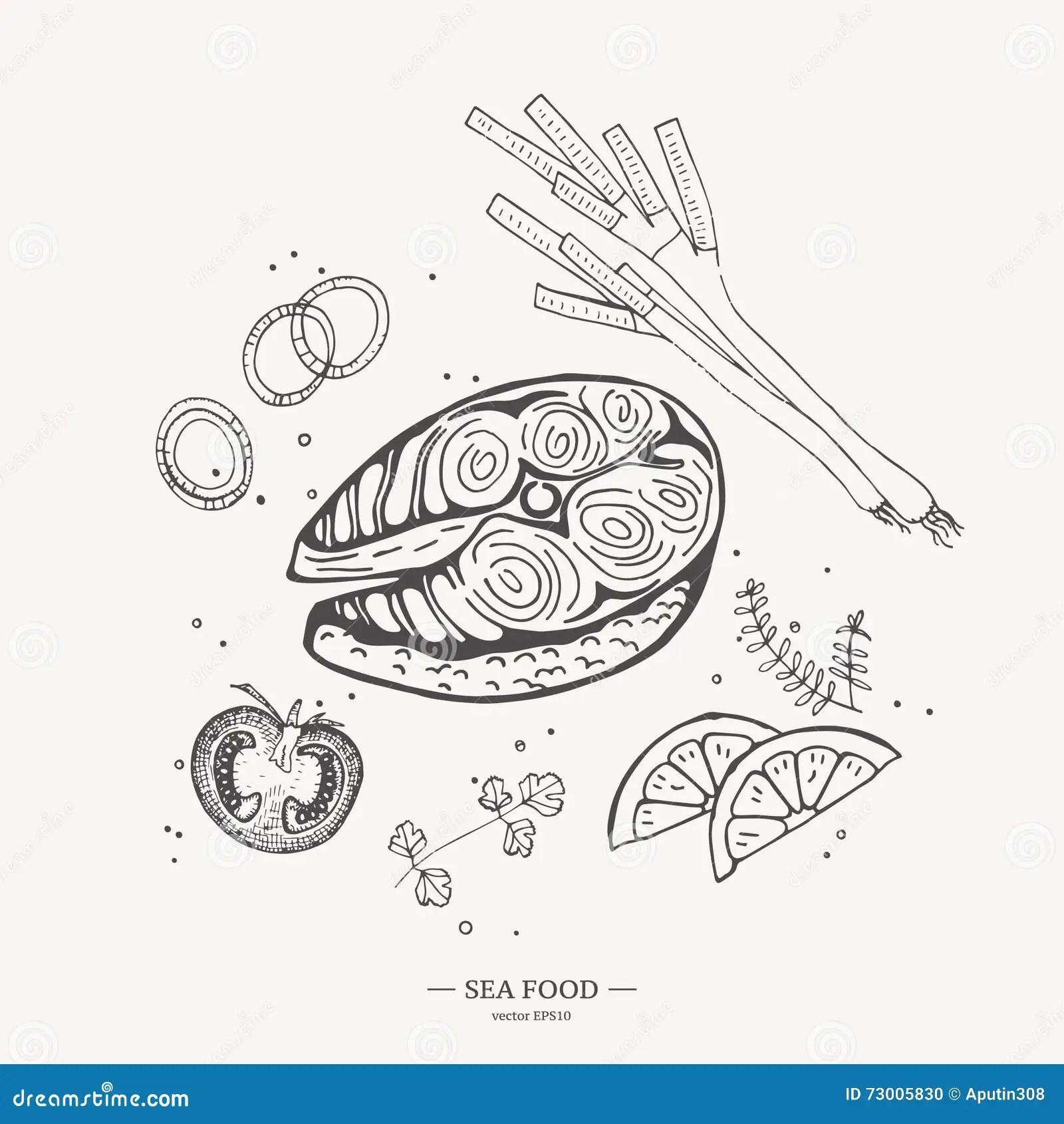 Fish Steak Cut