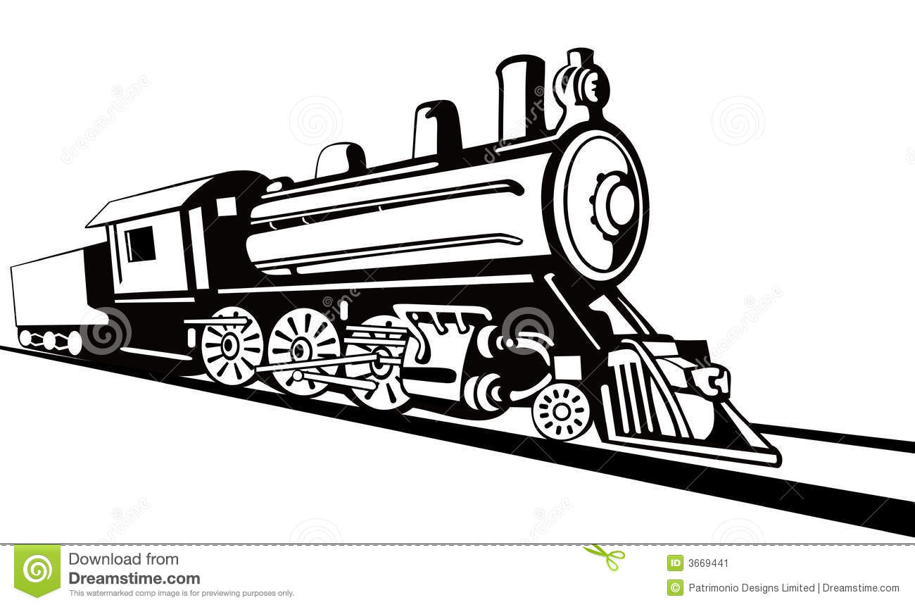 Steam Train Coloring Pages Sketch Coloring Page