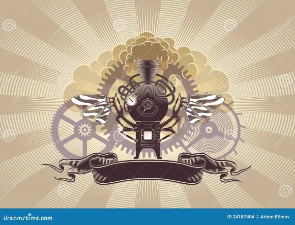 Steampunk Graphic Design