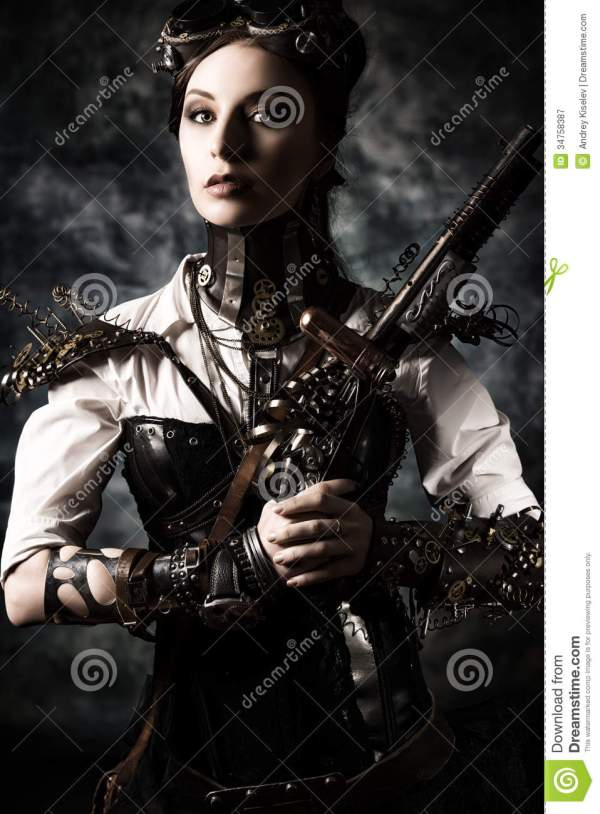 Steampunk Hero Stock Of Gothic