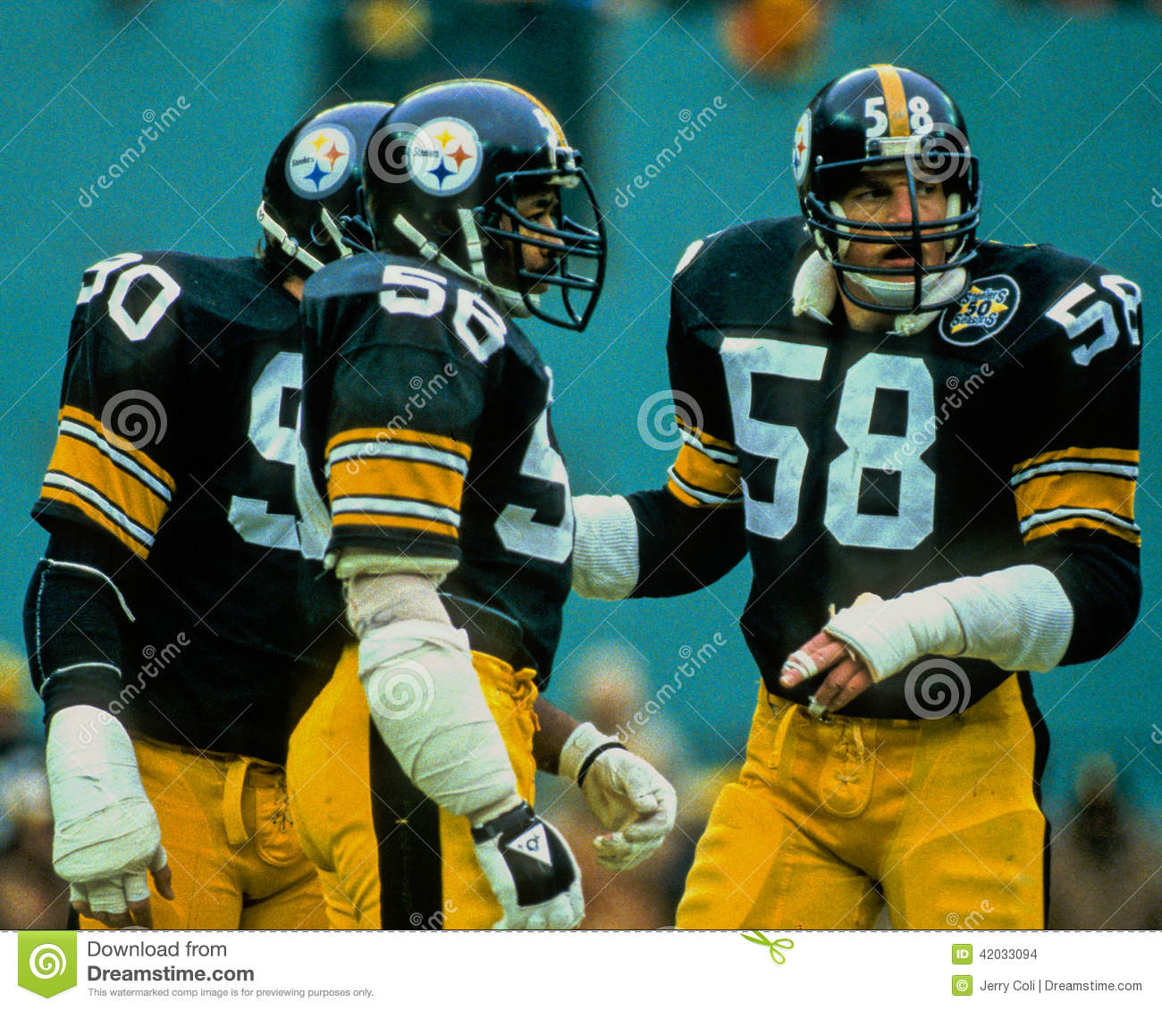Steel Curtain Pittsburgh Steelers Lambert Cole And Kohrs