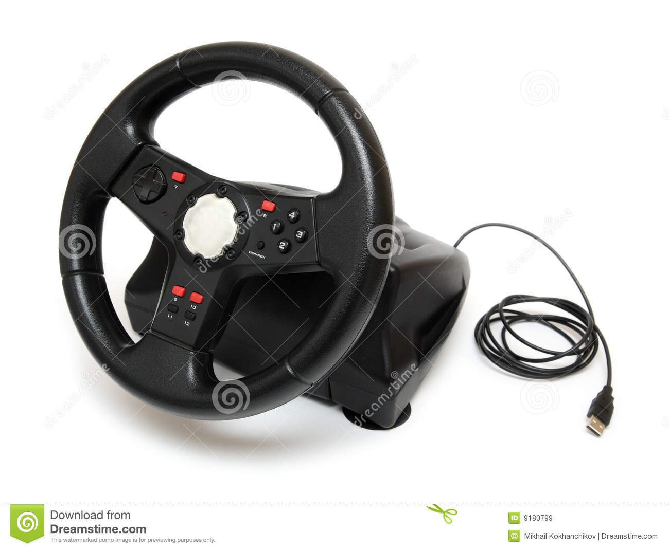steering wheel pc er diagram template simulator for games royalty free stock