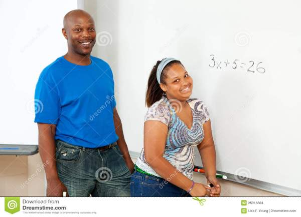 Stem Education - African-american Stock
