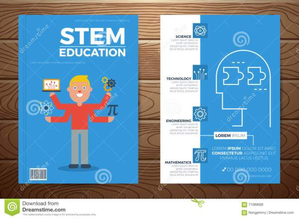 Stem Education Flyer Template