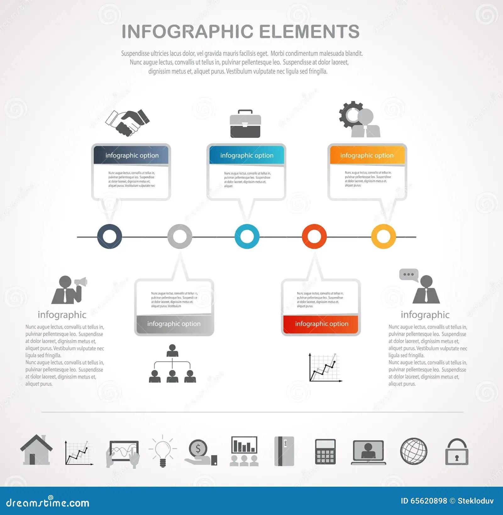 Step Infographics Stock Vector Illustration Of Human