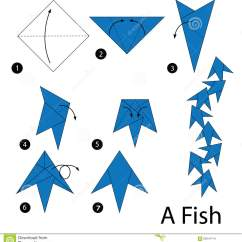 3d Origami Diagram Animals Axxess Gmos 04 Wiring Step By Instructions How To Make Fish Stock