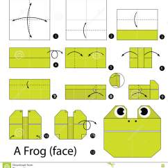Origami Jumping Frog Diagram Craftsman Lt2000 Wiring Step By Instructions How To Make A Face