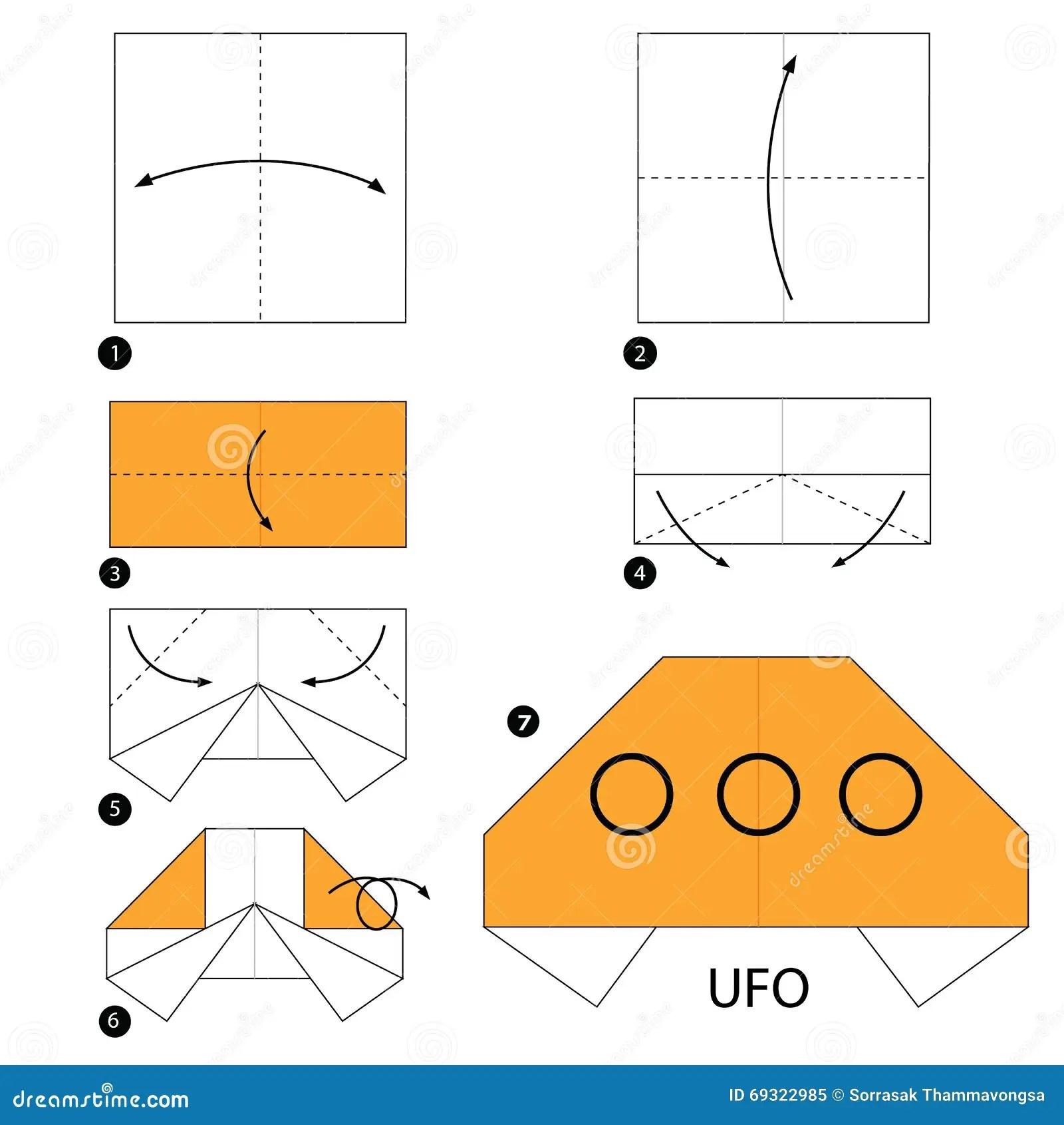 Alien Ufo Origami Diagrams Wiring Diagram Portal