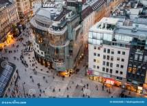 Austria Vienna Stephansplatz Editorial
