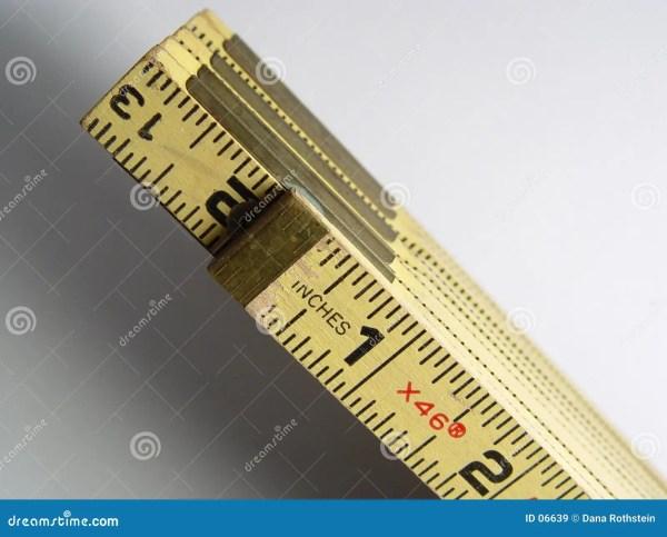 Stick Ruler Royalty Free Stock - 6639