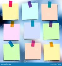 Sticky Notes Wallpapers Cartoon Vector | CartoonDealer.com ...