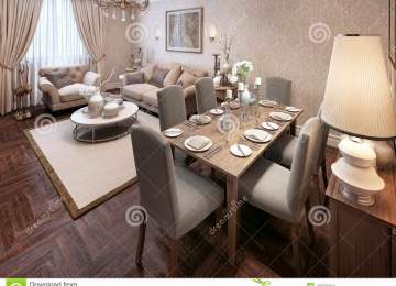 Arredare Sala Da Pranzo Moderna : Sala da pranzo completa moderna arredamento della sala da pranzo