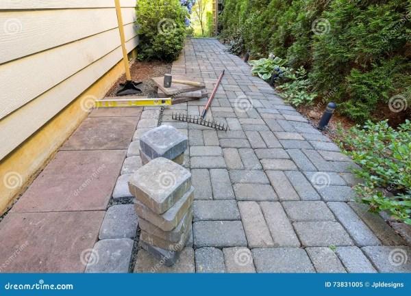 stone pavers. royalty-free stock
