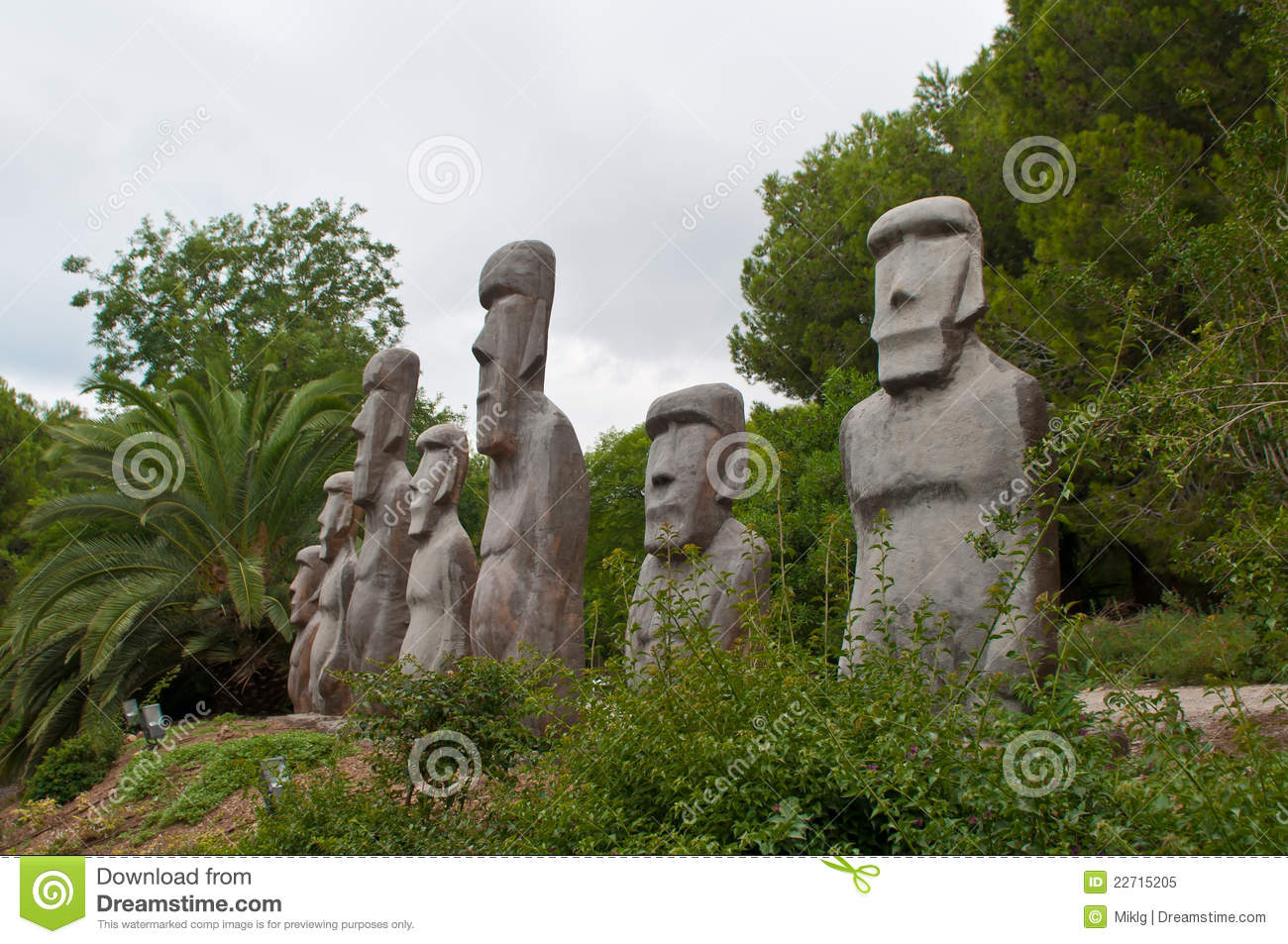 Stone People Figures Royalty Free Stock Photo  Image 22715205