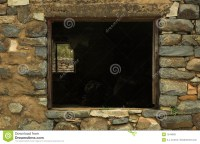 Stone Shed Window Royalty Free Stock Images - Image: 1544069