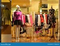 Store Display Window Light And Decorative Bike, Fashion ...