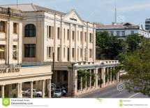 Strand Hotel Yangon Editorial Stock