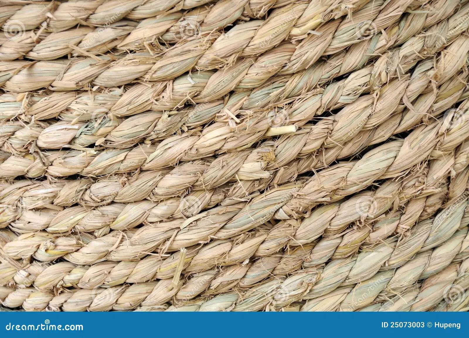 Straw rope texture stock image Image of fiber hemp