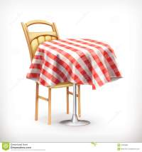 Empty Street Cafe, Table And Chair Royalty-Free Stock ...
