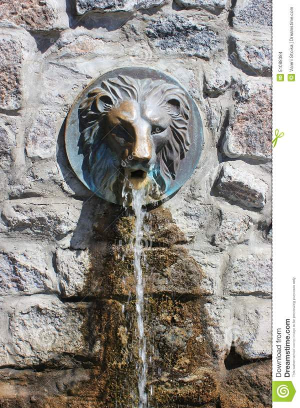 Lion Head Water Fountains