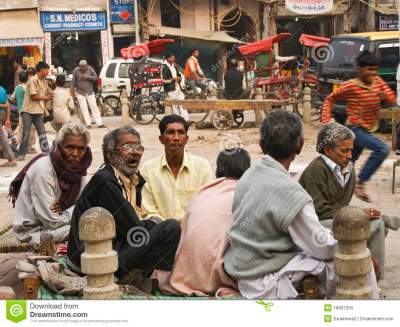 Street Life In New Delhi, Pahar Ganj Editorial Image ...