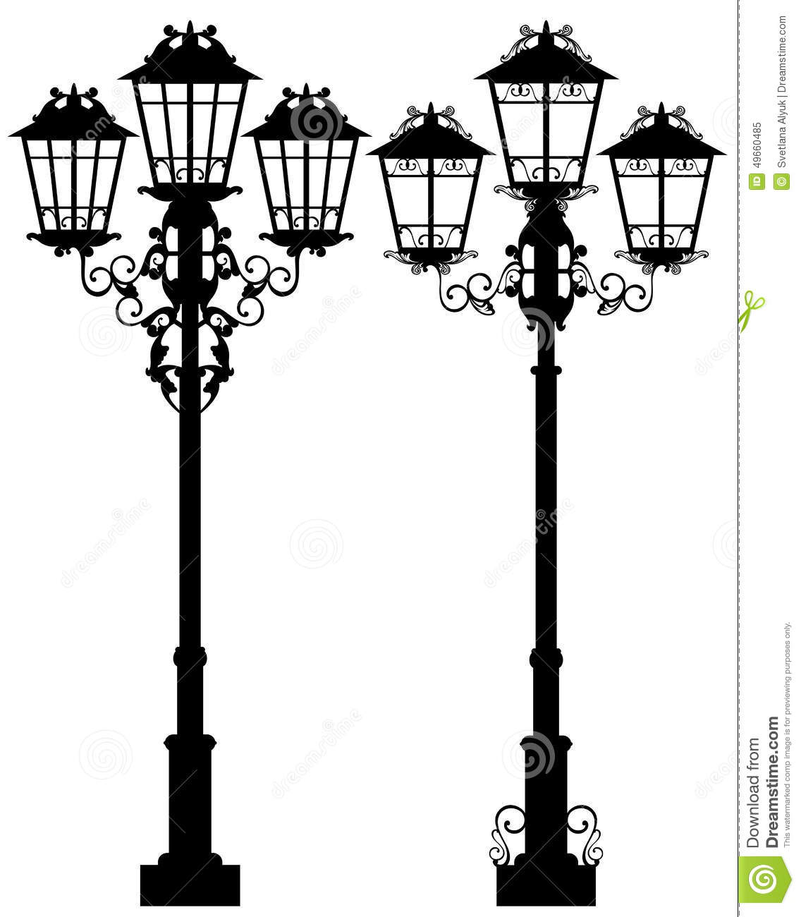 Street Light Stock Vector