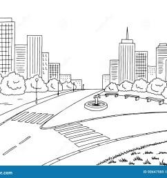 tree house graphic art black white landscape illustration [ 1300 x 1065 Pixel ]