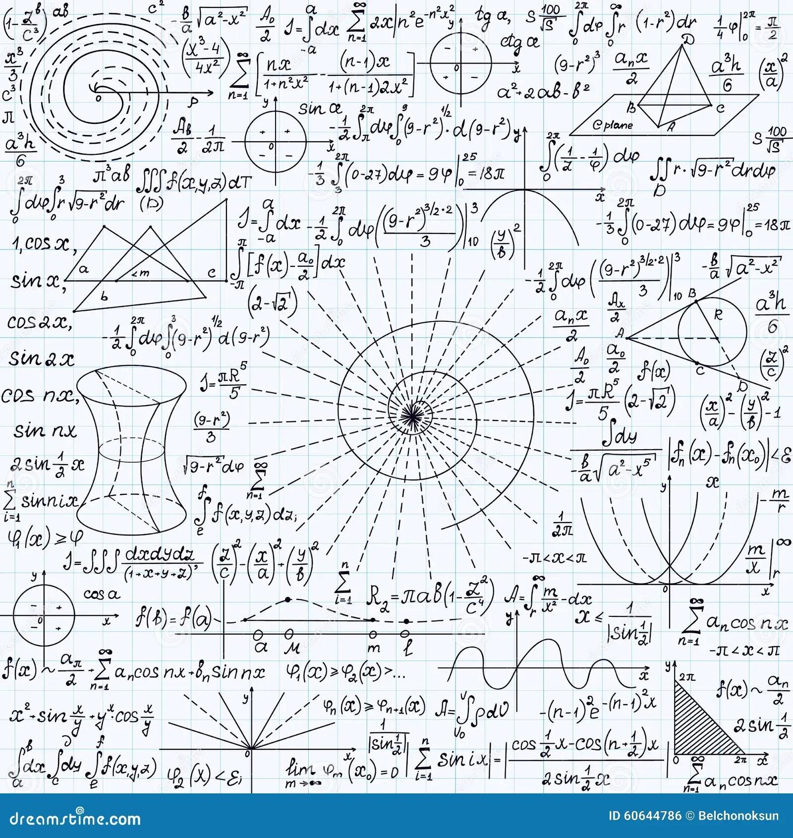 Struttura Senza Cuciture Di Vettore Di Per La Matematica