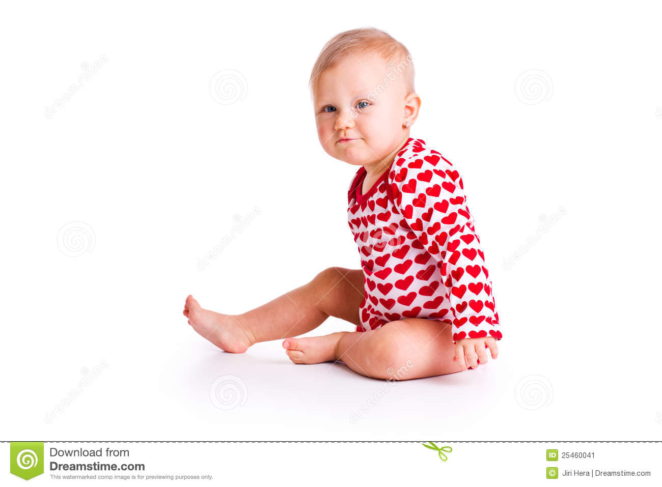 Chairs For Babies To Sit Up In Studio Shot Of Baby Sit Stock Image Image 25460041
