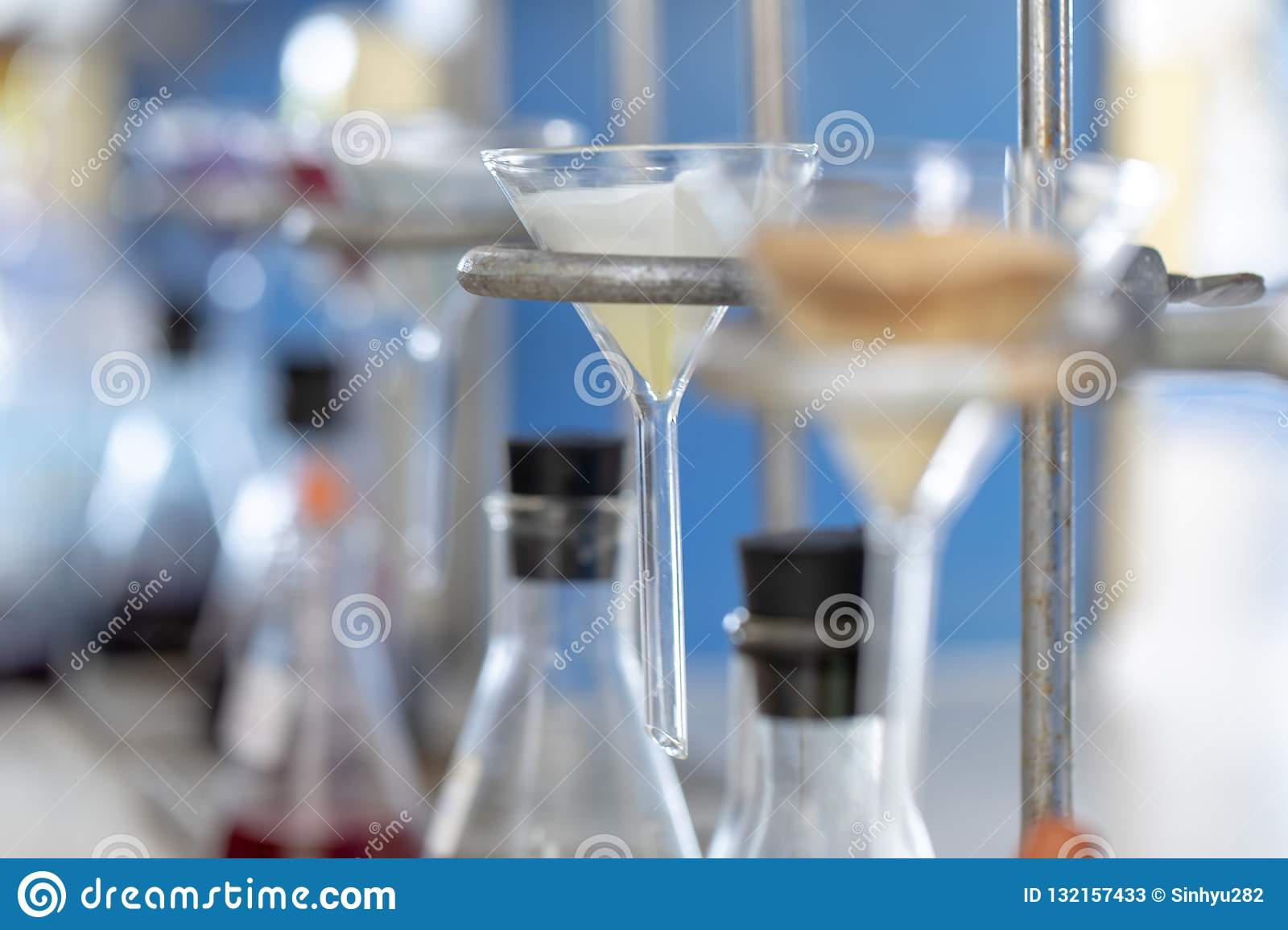 Separating By Filtration And Evaporation Condensation The