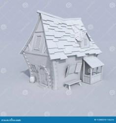 Stylised medieval house stock illustration Illustration of design 113502276