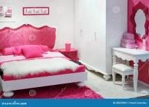 Stylish Pink Bedroom Stock Of Design