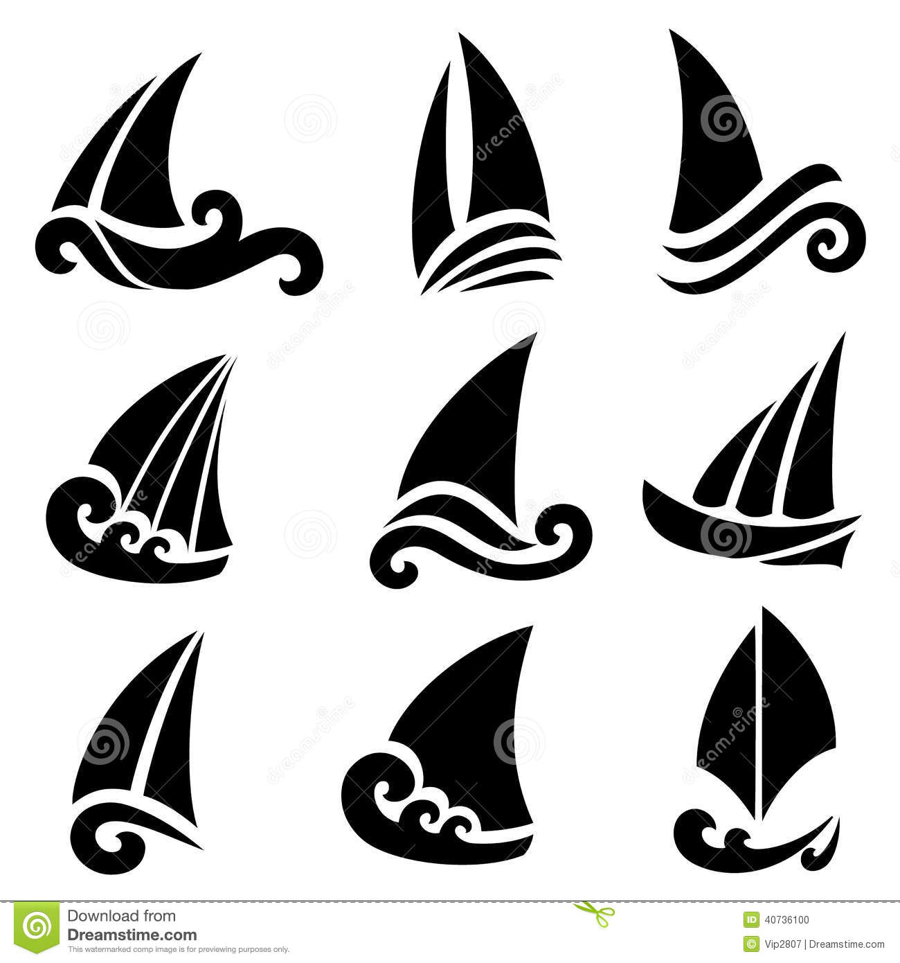 The Stylized Ship Boat Stock Vector Illustration Of Icon