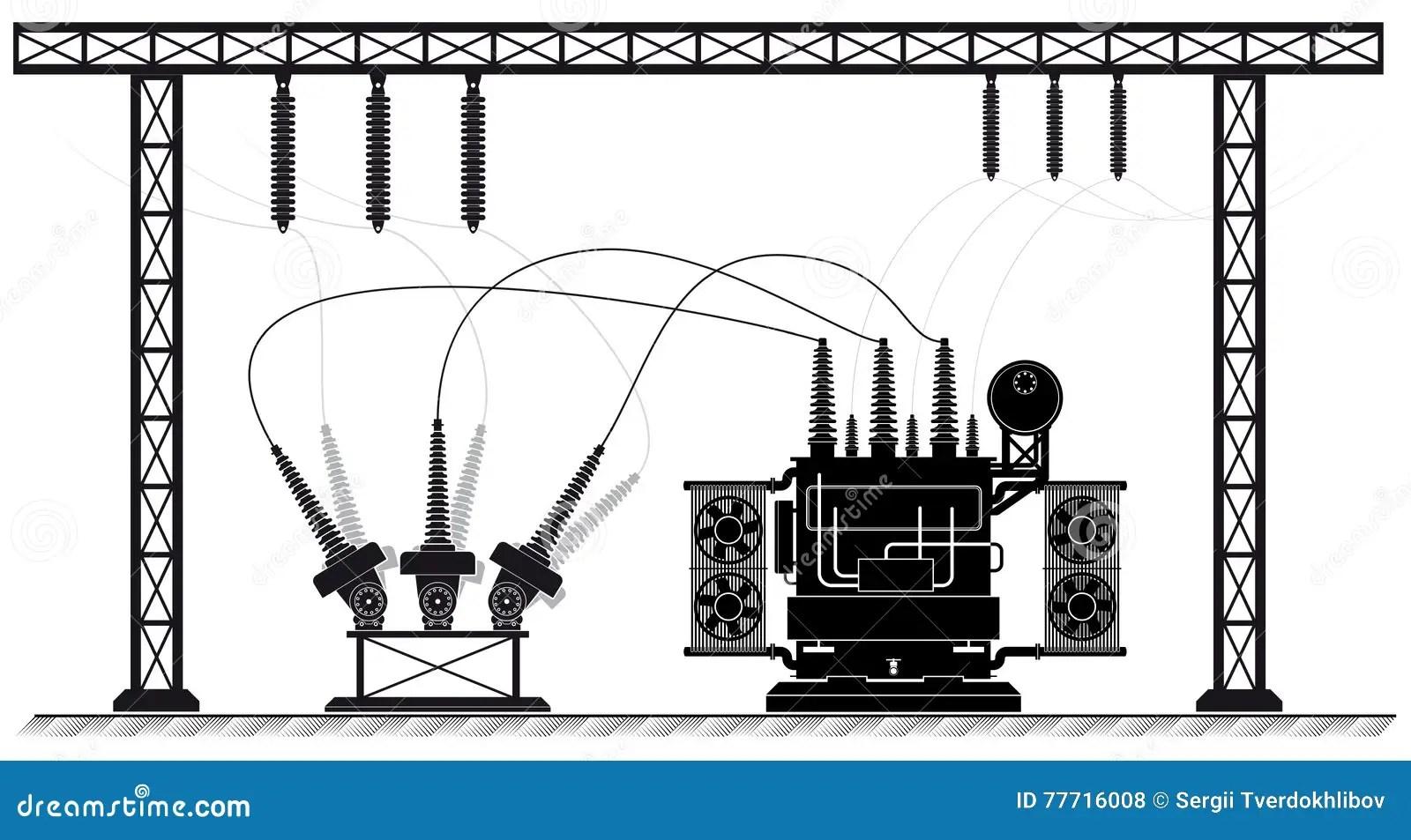 Subestacion Ilustraciones Stock Vectores Y Clipart