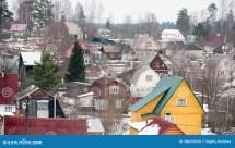 Russia Suburbs Houses